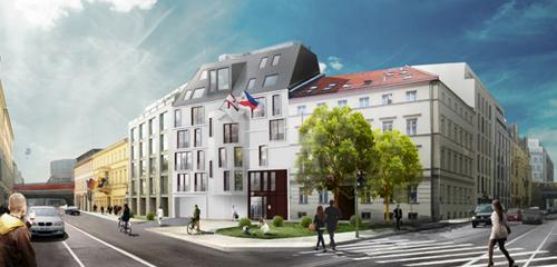 Hoyer Architekten Berlin Neubau der philippinischen Botschaft